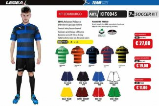 LEGEA Kit Edimburgo